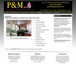 P & M, Painting and Handyman Service